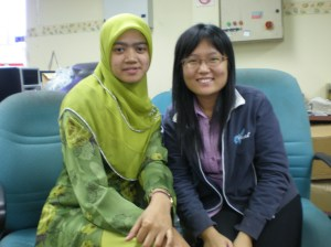 che bersama Pei Wen(wartawan Utusan)